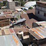 Le toit des maisons