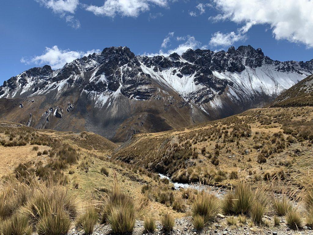 la montagne et la neige
