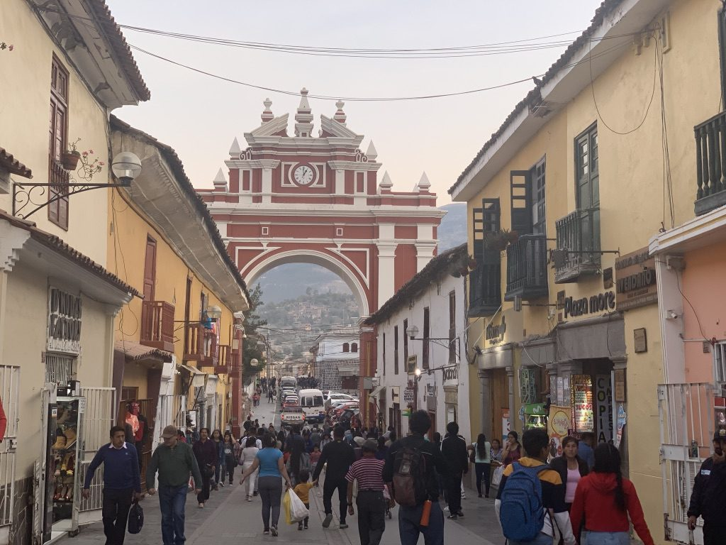 Arc de triomphe d'Ayacucho