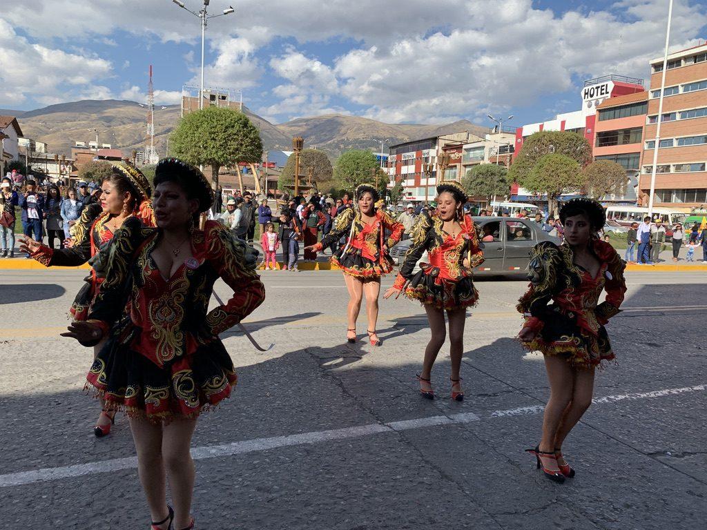 La fiesta à Huancayo