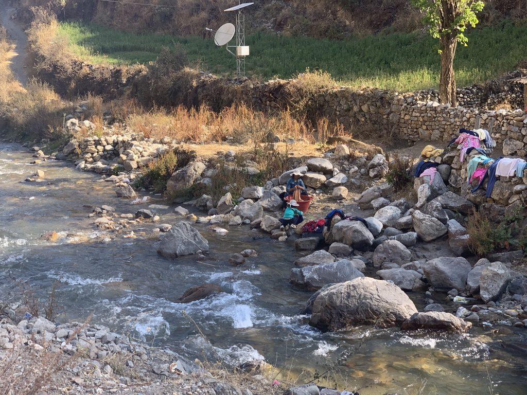 Laver son linge au Pérou