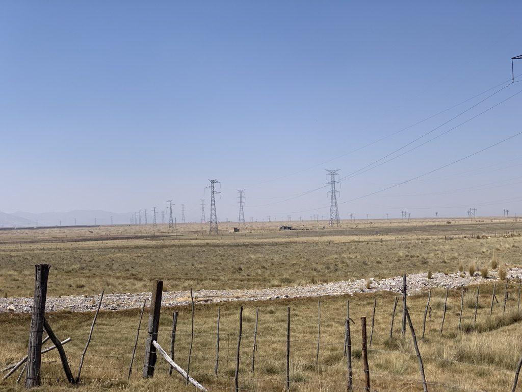 Un paysage électrique