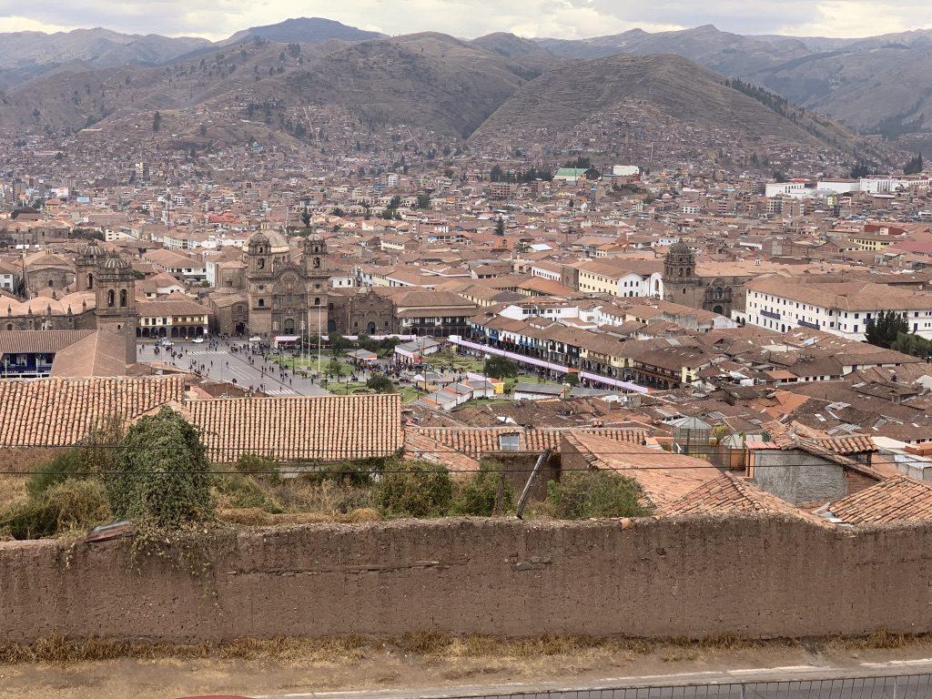 Hermosa vista de Cuzco