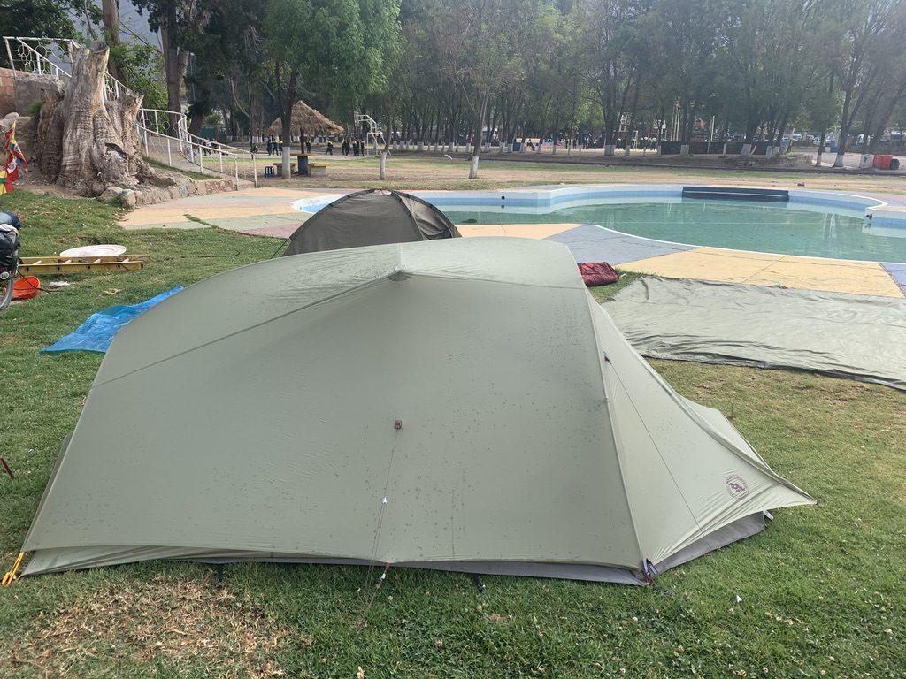 Camping parc Urubamba