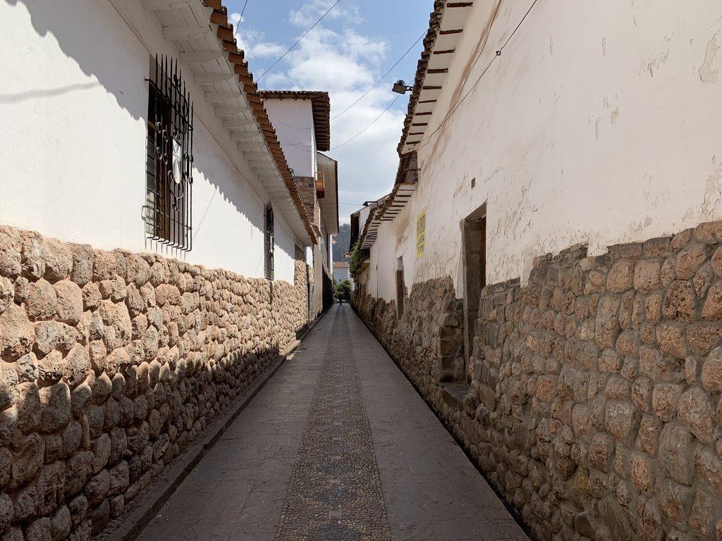 Cuzco y sus callejones