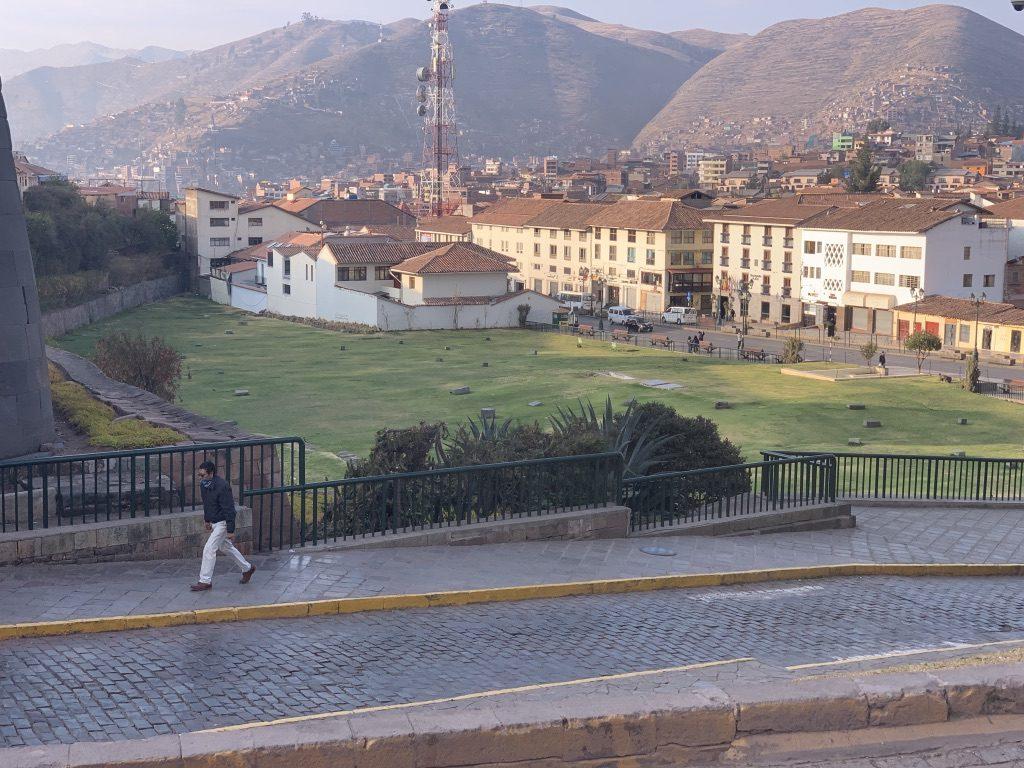 Cuzco y un parque