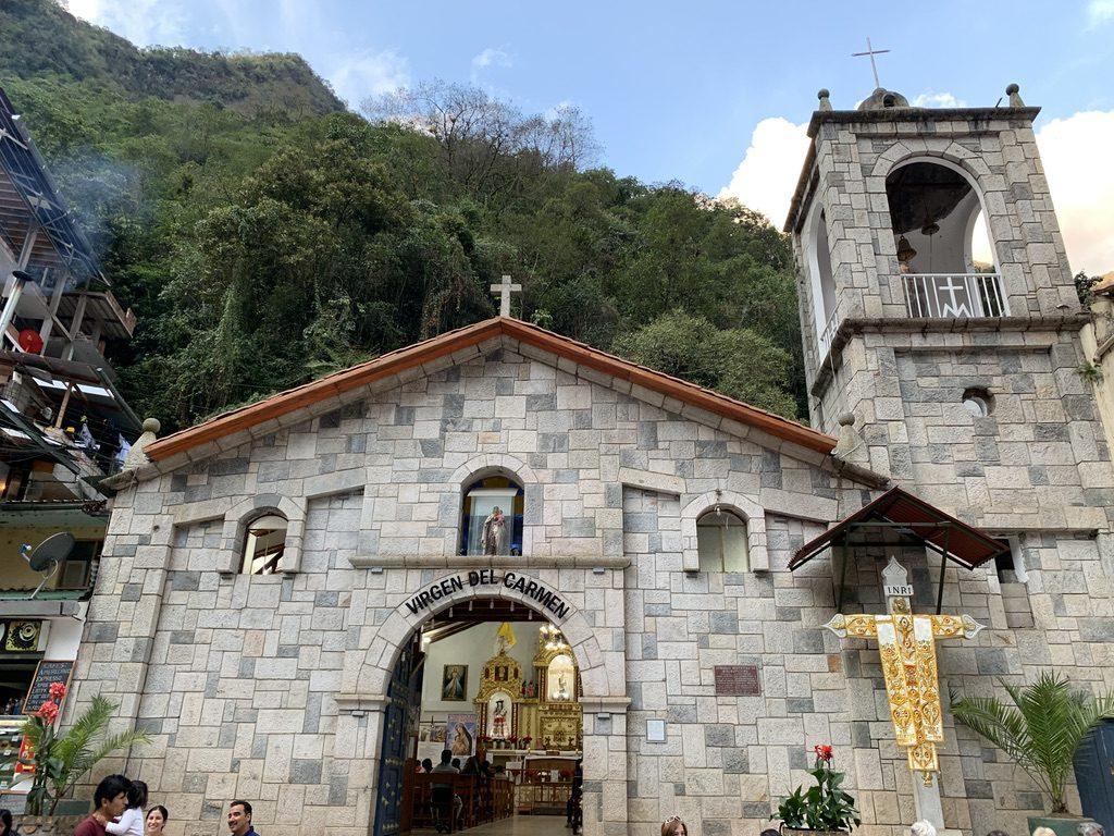 Eglise d'Agua Caliente