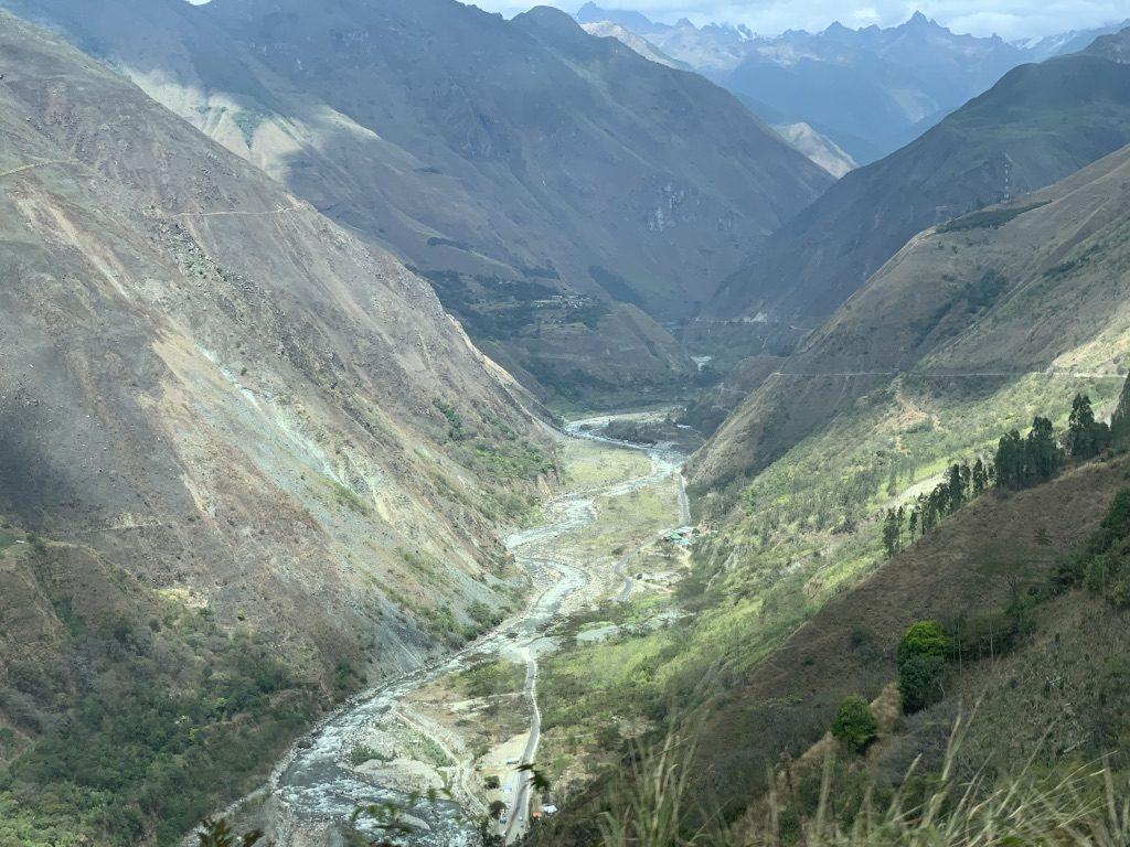 El camino a Machupicchu