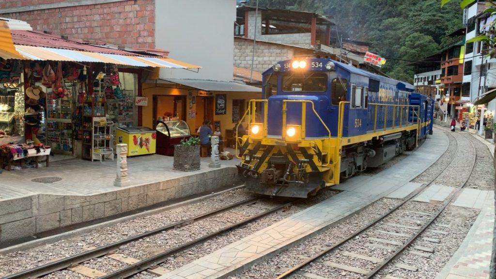 Le train pour Agua caliente