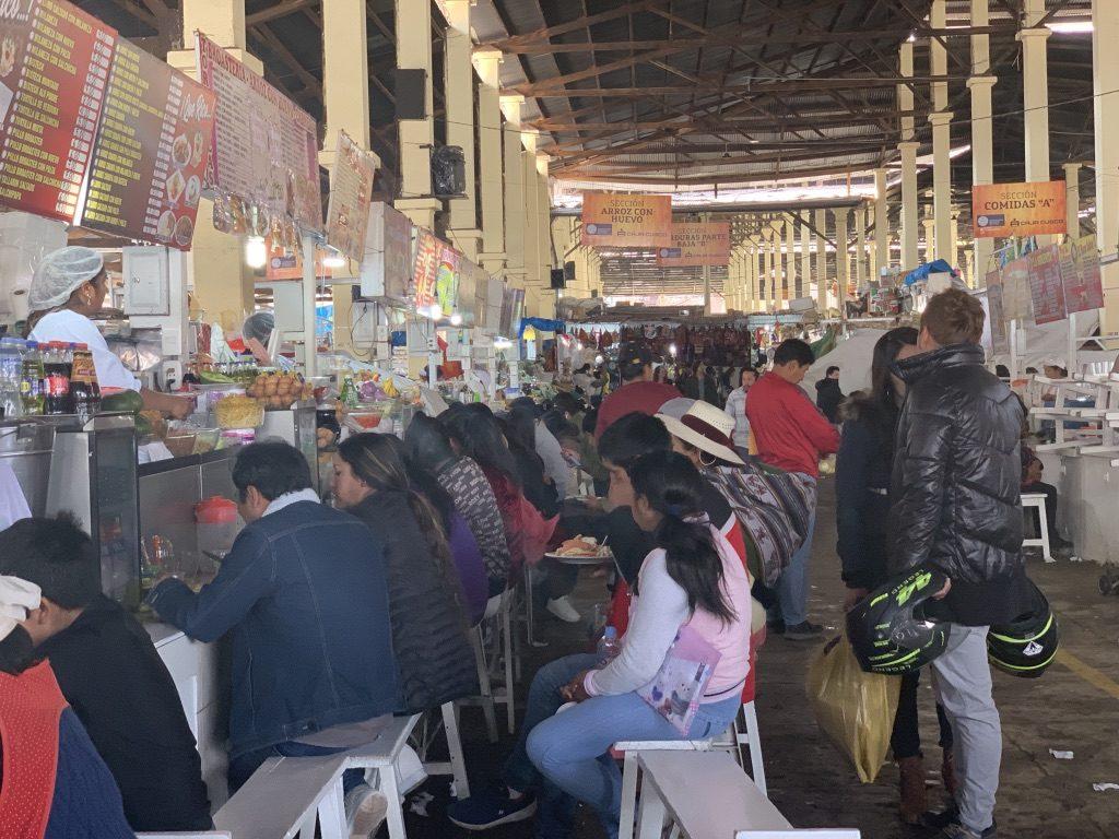 Manger au marché une tradition