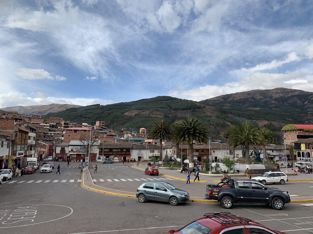 Urcos Plaza de armas