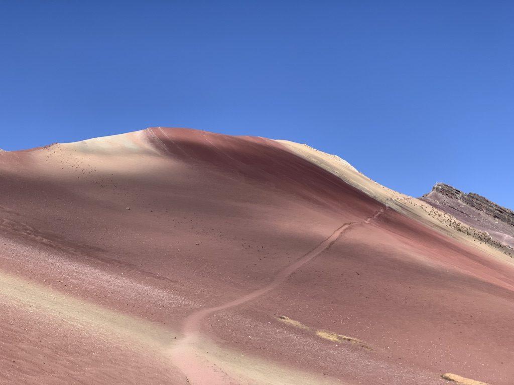 la montagne rouge