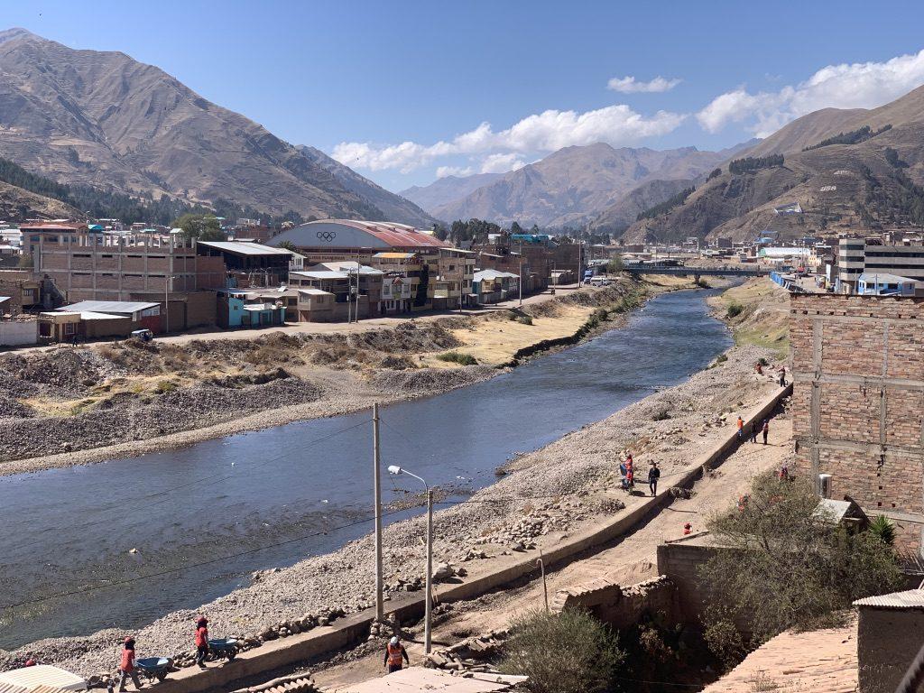 Ayaviri la rivière