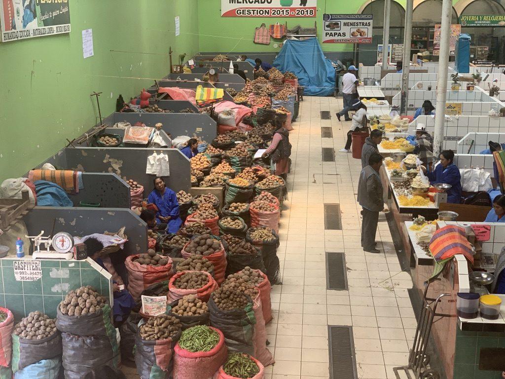 Mercado de la patata
