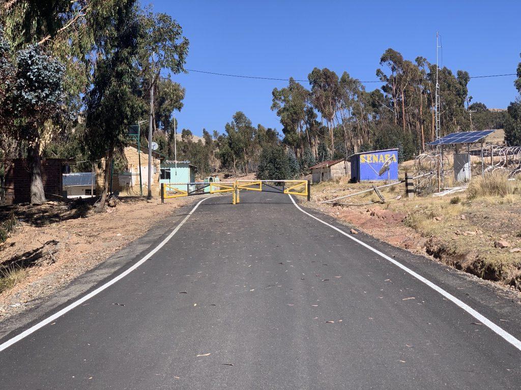 Sortie du Pérou