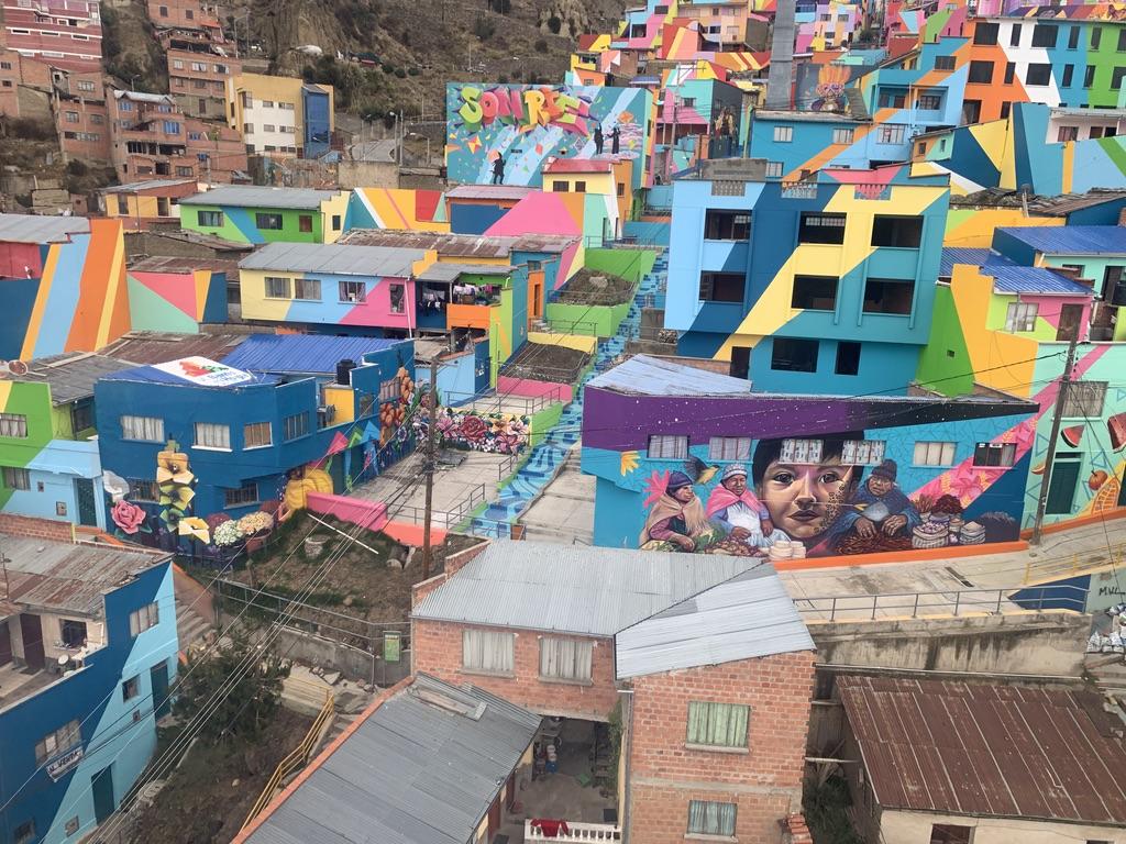 La Paz en couleur