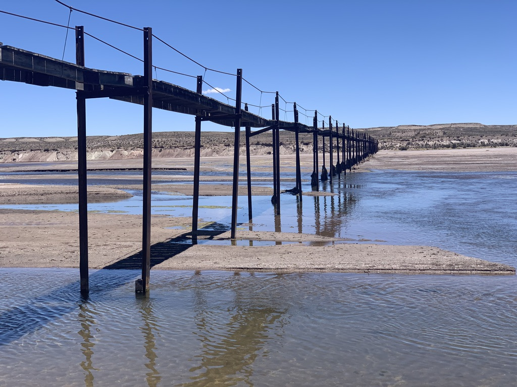 No tranquilizar este puente