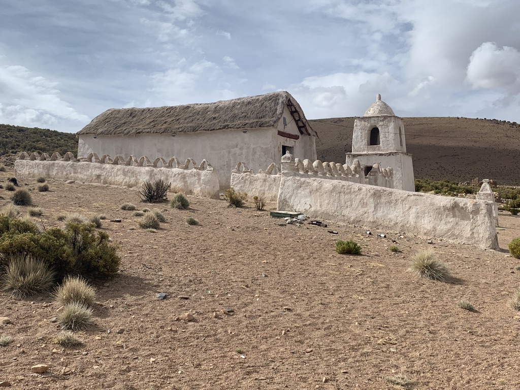 Eglise dans le parc