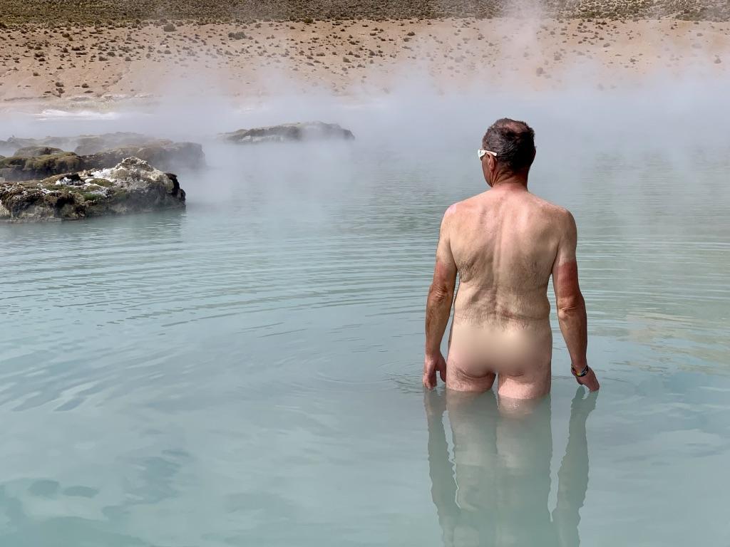 L'eau est chaude