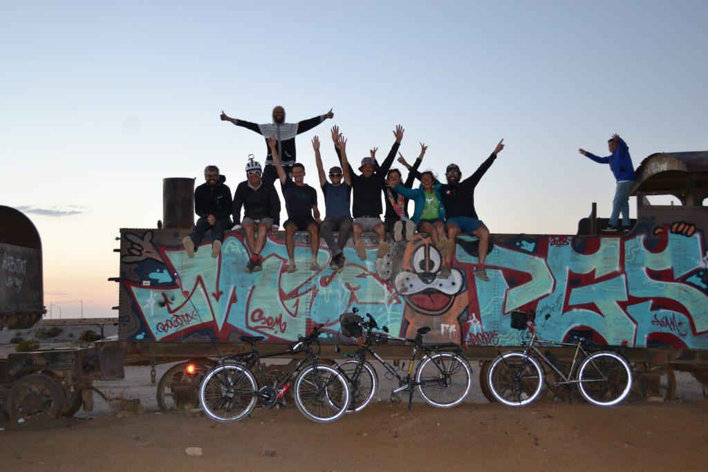 Compañeros de la casa de ciclistas