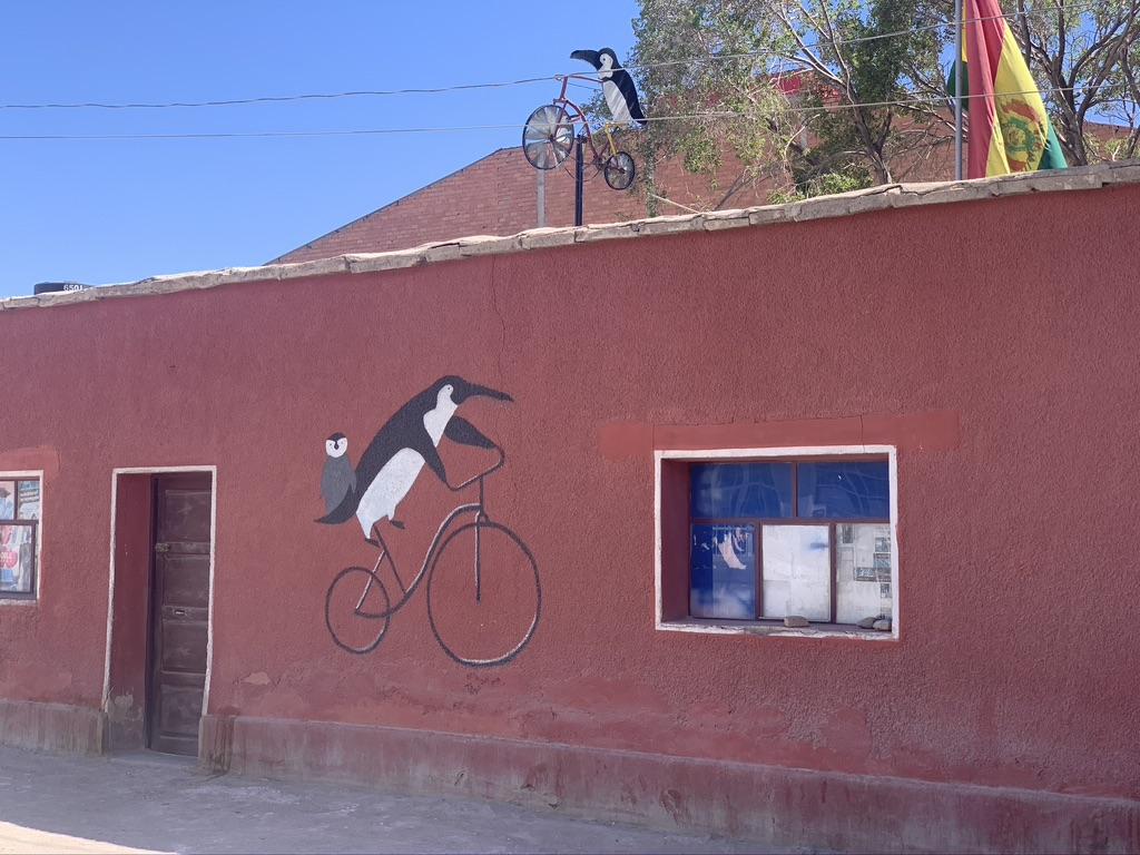 La casa de ciclistas de Uyuni