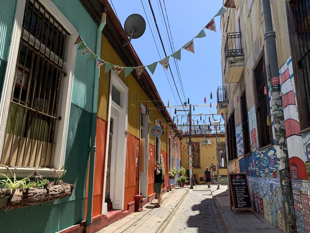 Des rues toutes en couleurs