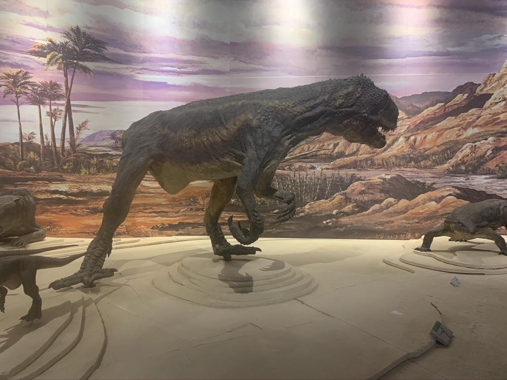 Les dinosaures toute l'histoire du parc