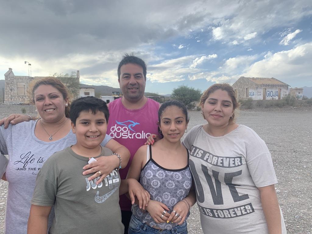 Javier et une famille formidable