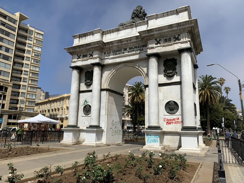 L'arc de triomphe Chilien