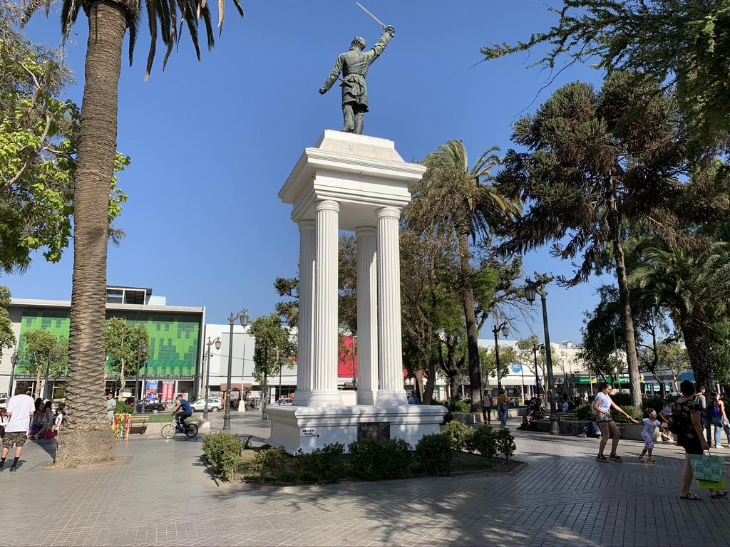 Place centrale Santiago
