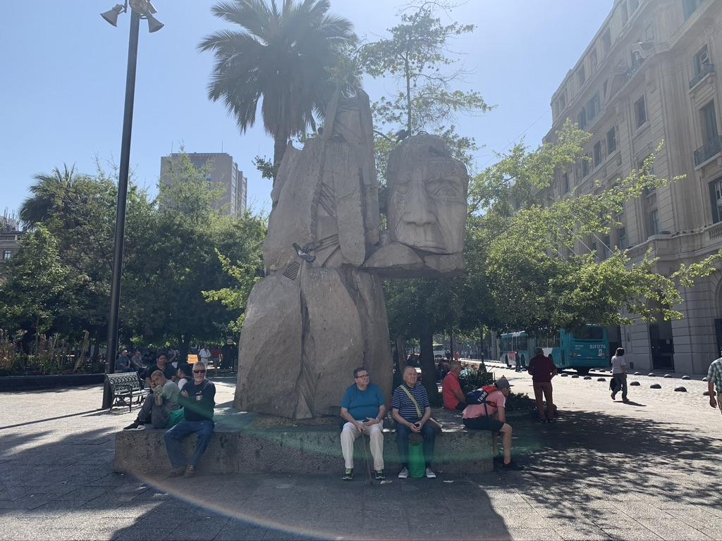 Place des armes Santiago