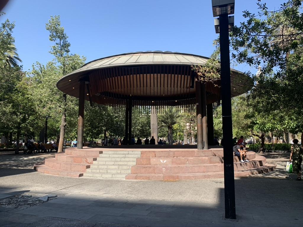 Santiago et un parc