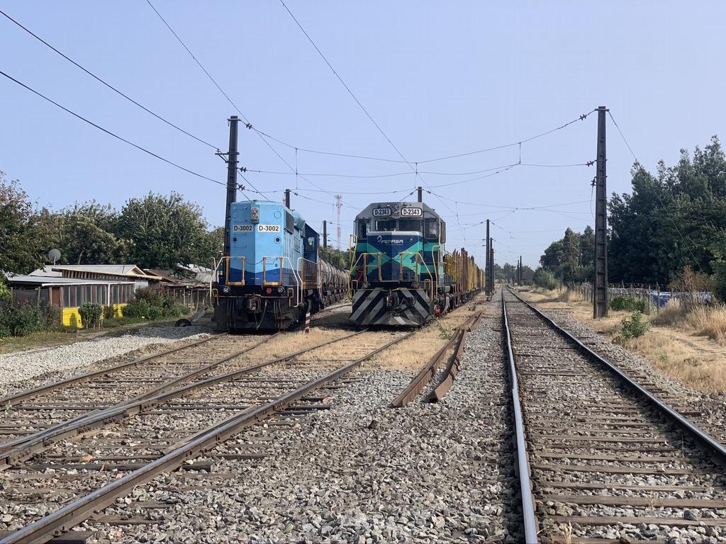 les trains au Chili