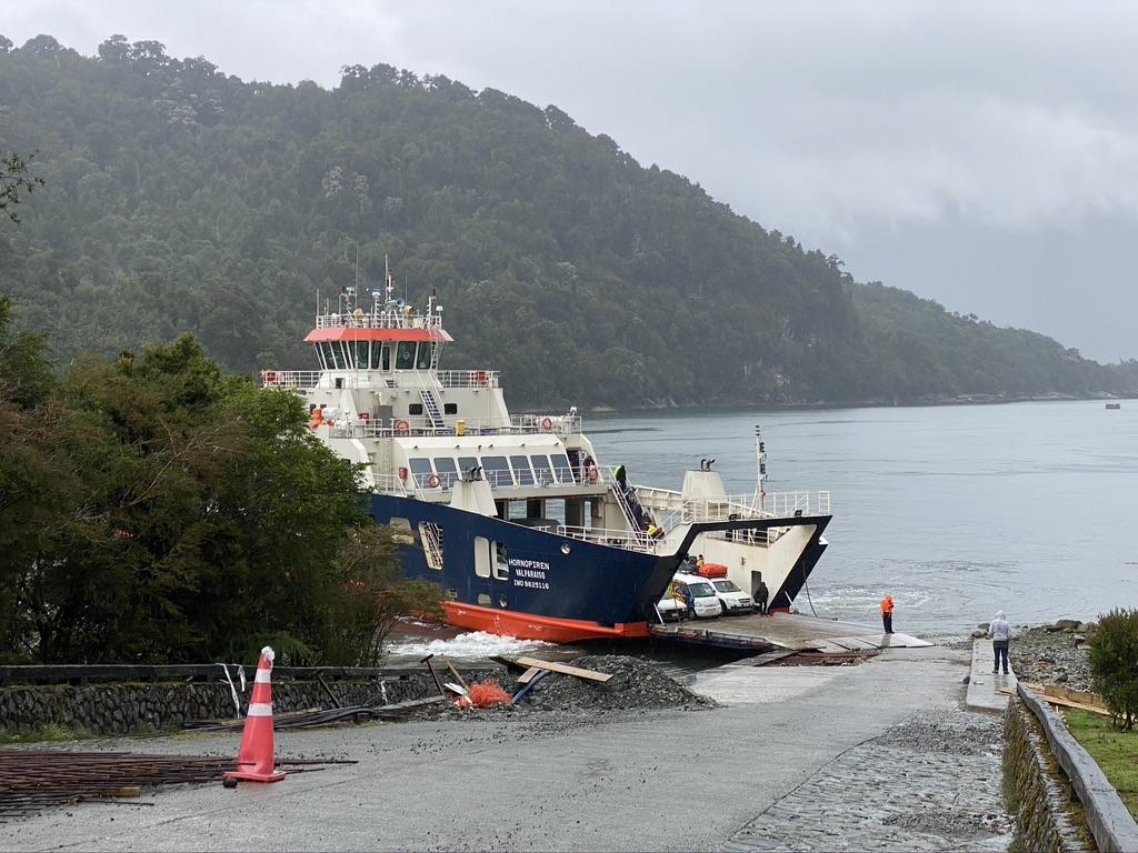 Passage en ferry