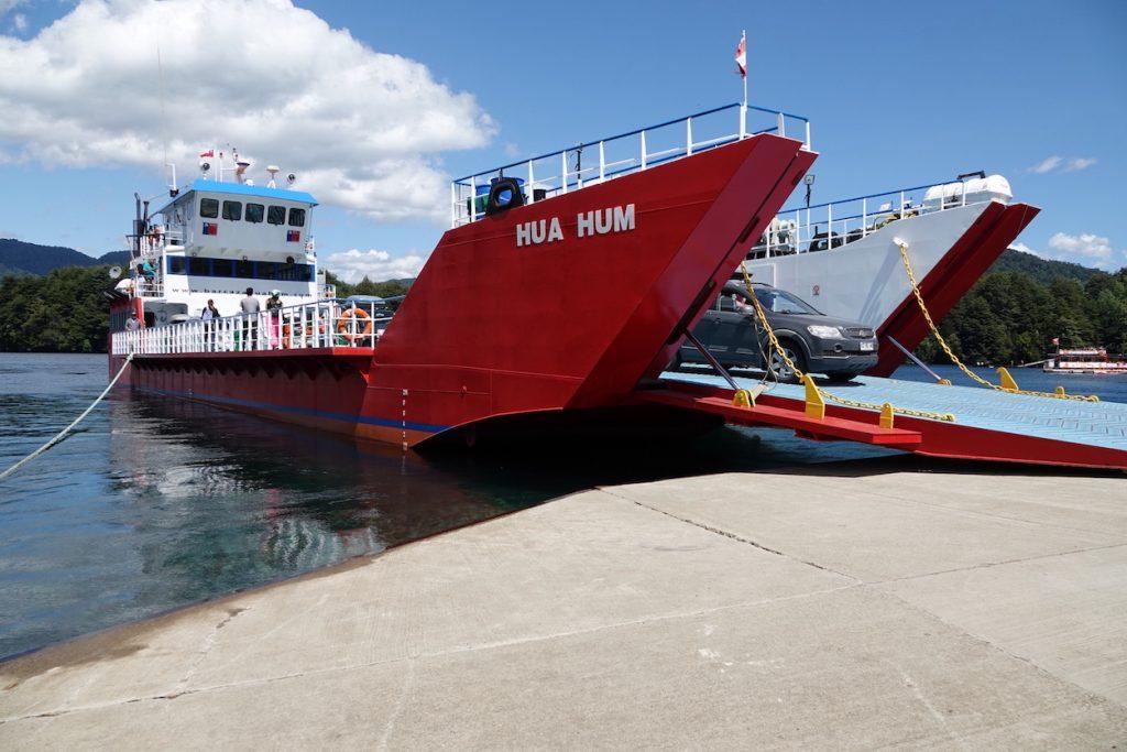 Embarcadère de Puerto fuy
