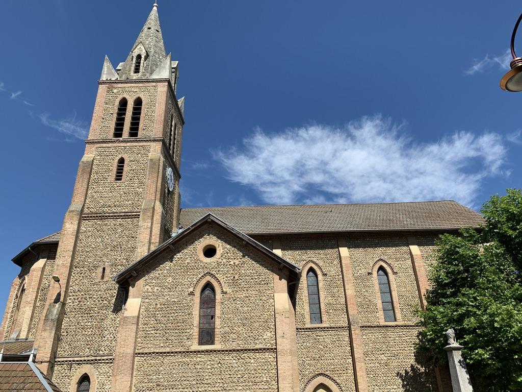 Thodure : église au style bien particulier