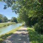 La calma pacífica del Canal de Borgoña