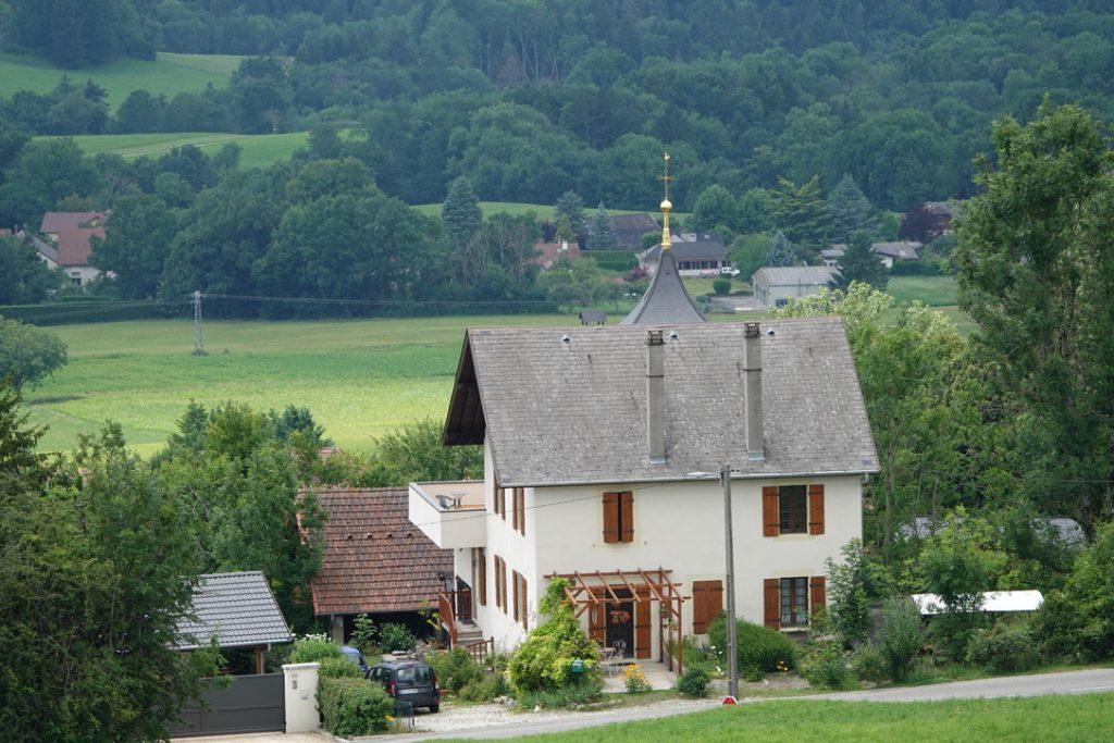 Paysage de Haute Savoie