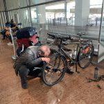 Bicicletas de reensamblaje
