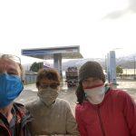 En la carretera sur, reencuentro con Jenifer, una reunión del Perú