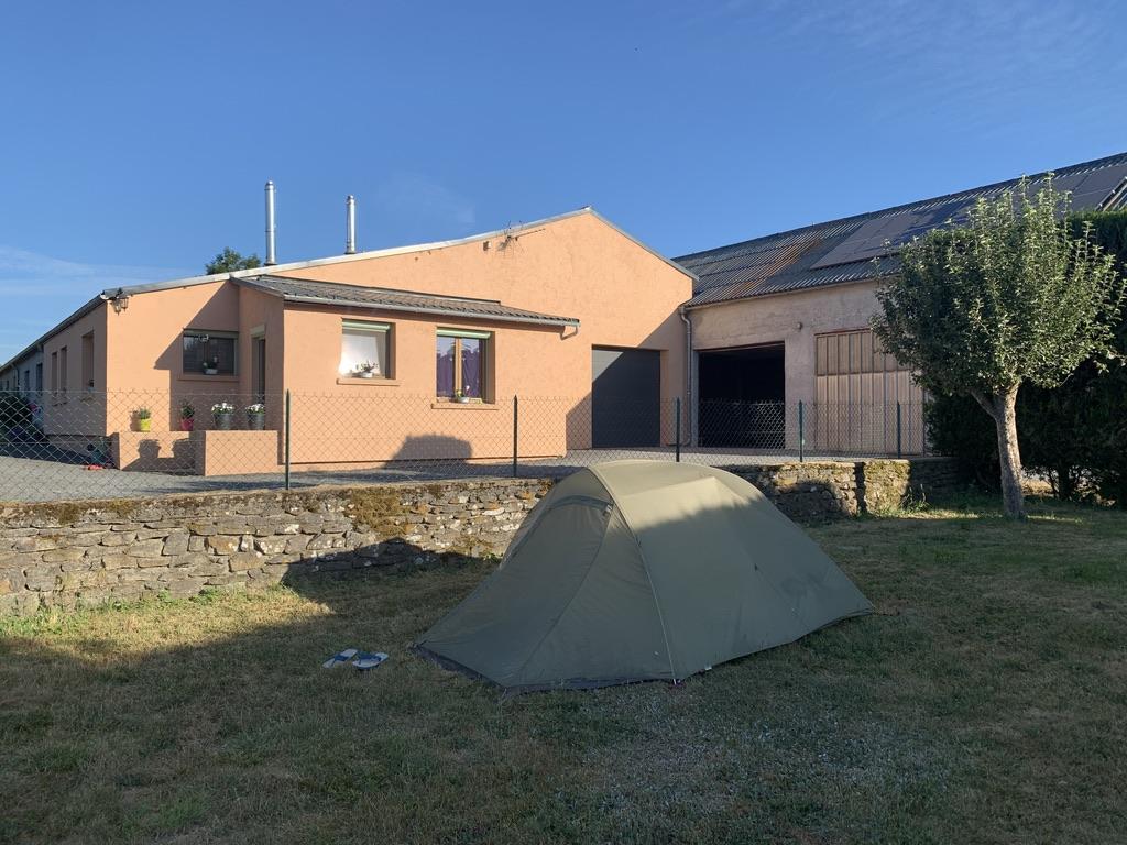 Camping de luxe chez Nathalie et Christian