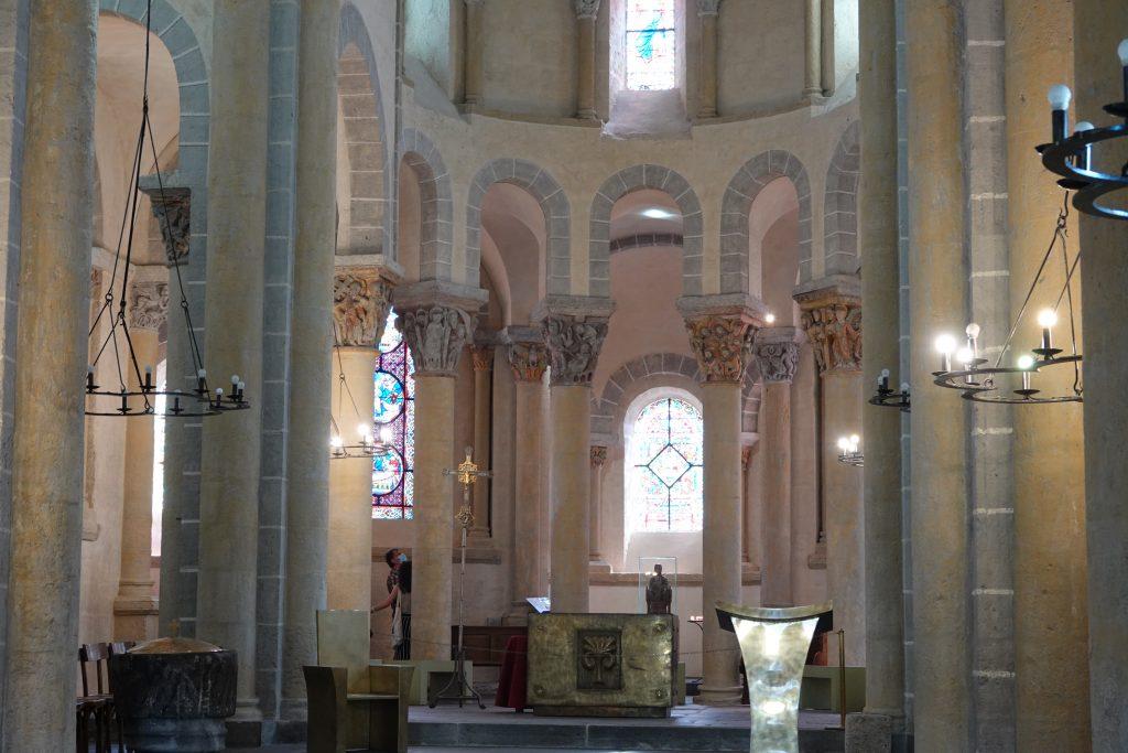 Magnifique intérieur de la cathédrale