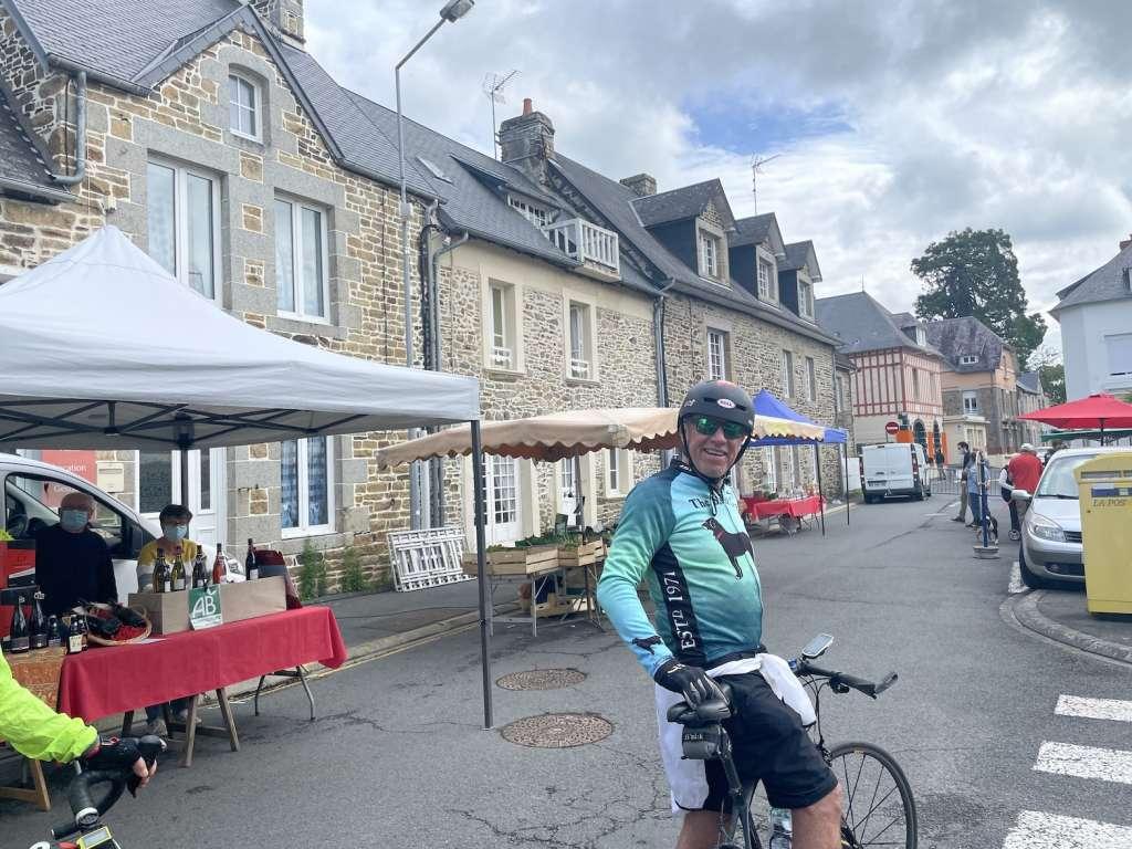 Pierre un cycliste