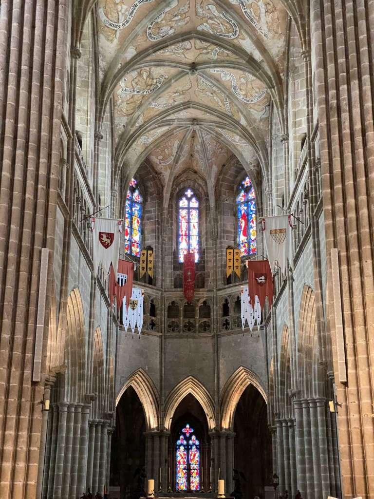 Intérieur cathédrale de Tréguier