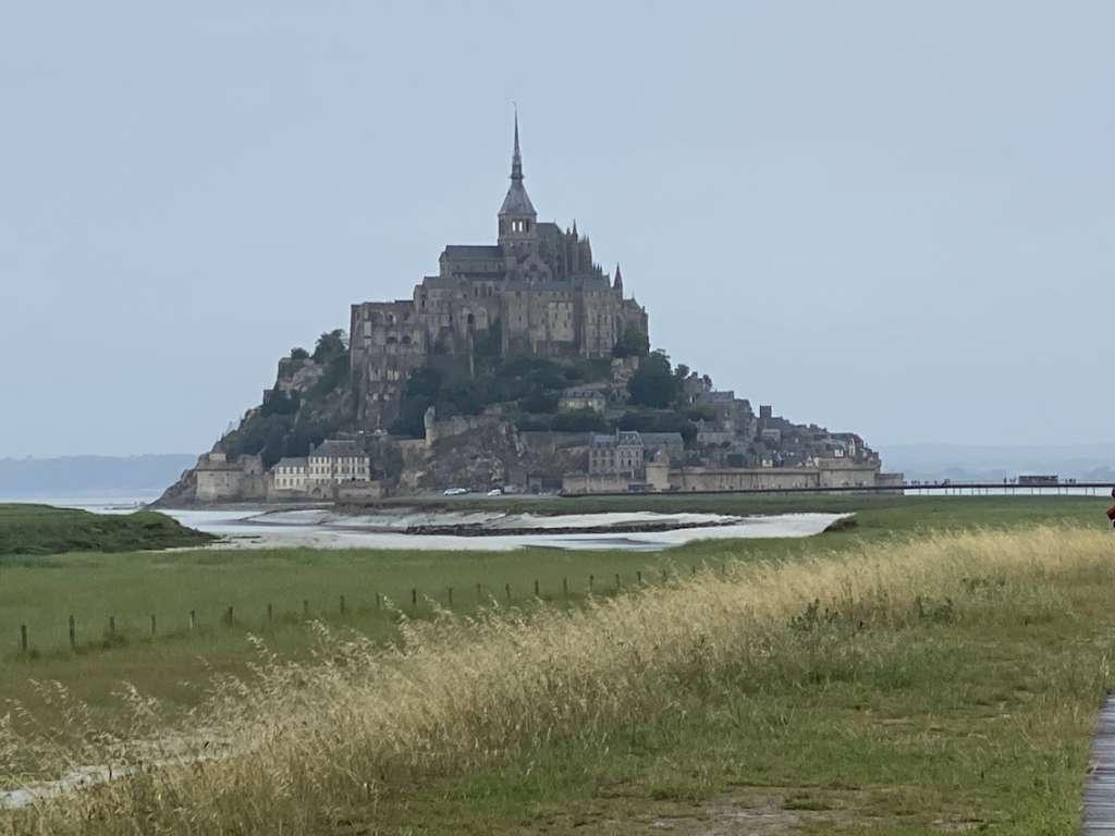 Le mont St Michel dans sa splendeur