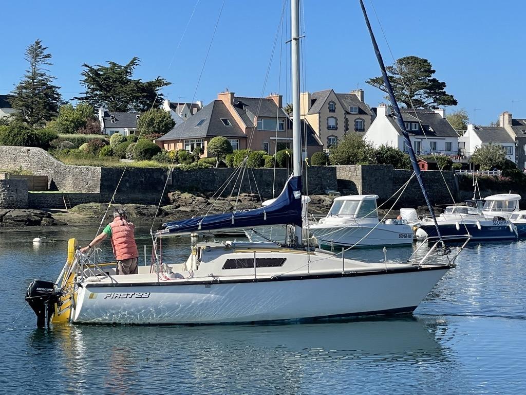 Louis et son bateau