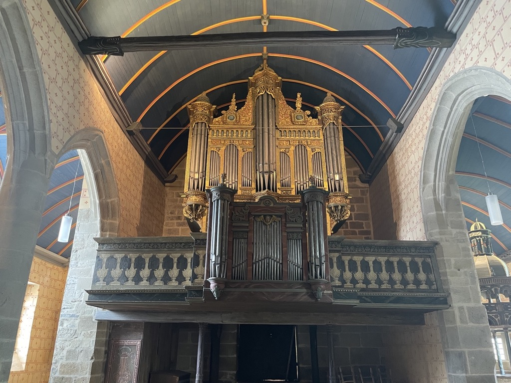 Magnifique orgue de Sizun
