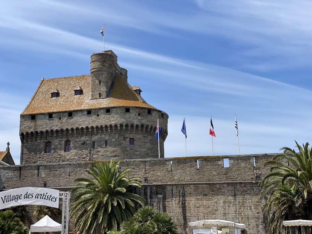 St Malo et ses ramparts