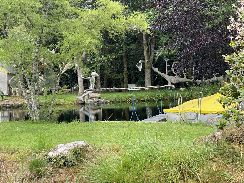 Un jardin d'artiste