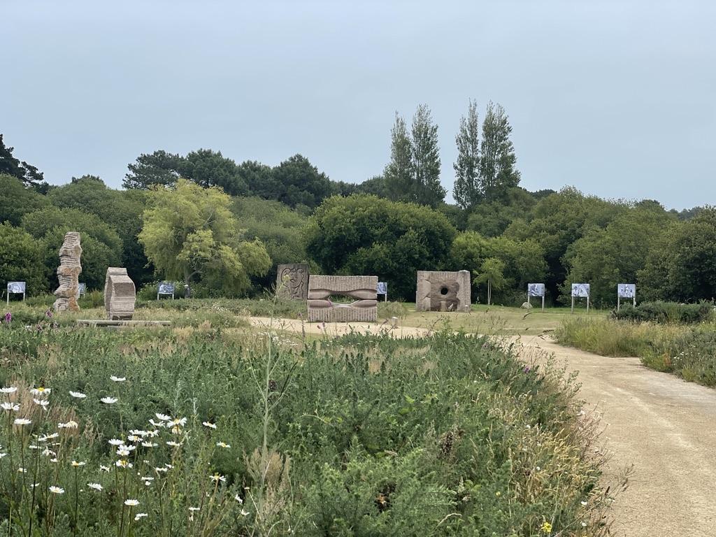 Un parc dédié au granit rose